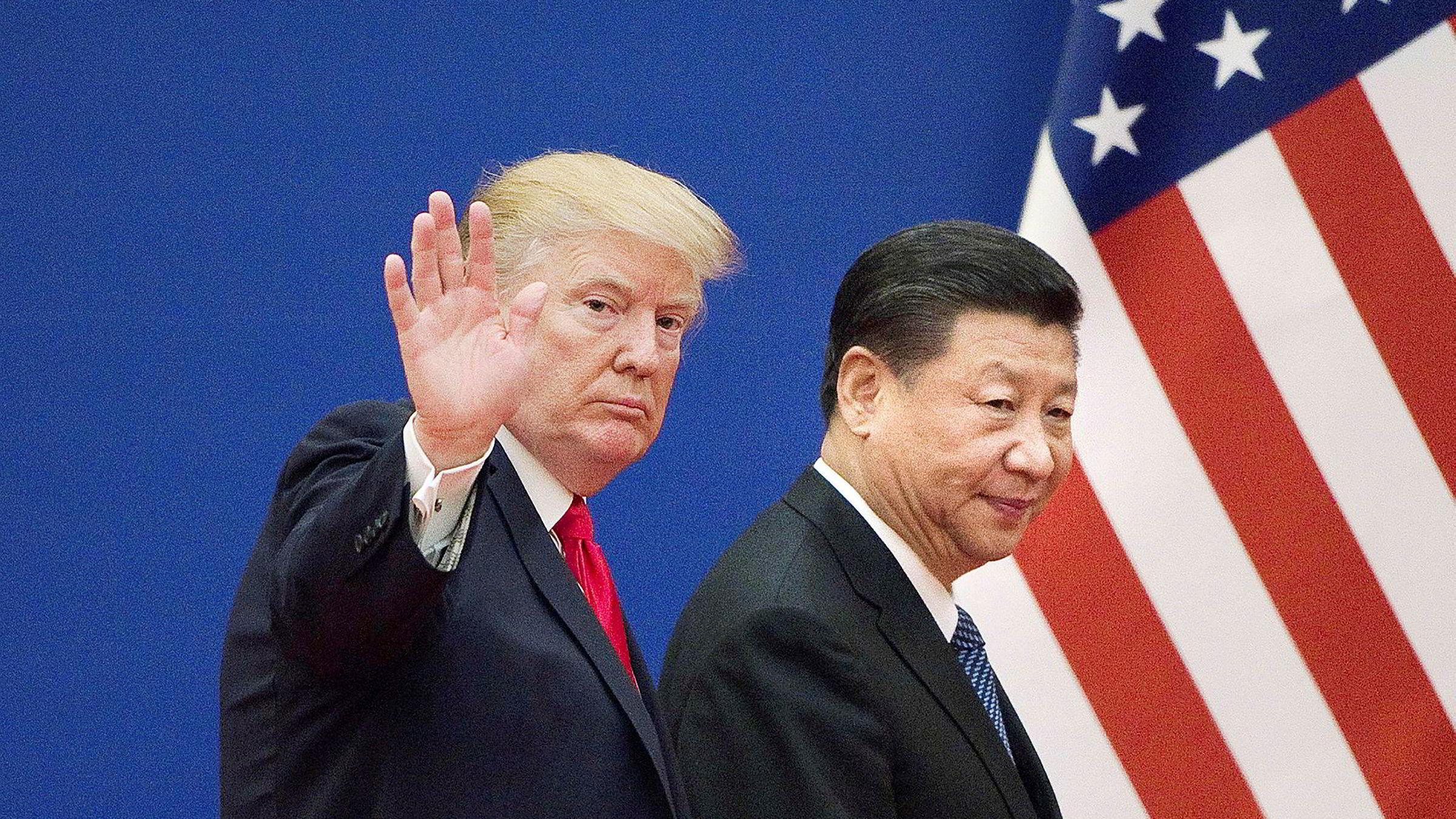 – Kina uttrykker sterk misnøye og tydelig motstand mot slik sverting, sa talsmann Zhao Lijian i kinesisk UD under sin daglige pressekonferanse torsdag. Bildet er tatt ved en tidligere anledning.