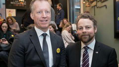 Rektor Curt Rice ved Oslo Met Storbyuniversitetet, mener gratis pensum i høyere utdanning kan være en mulighet i Norge. Foto: Terje Bendiksby / NTB scanpix