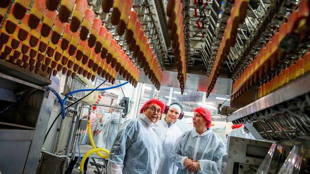 Bollestad på iskremfabrikk: – Ikke alle skal bli stjernekokker