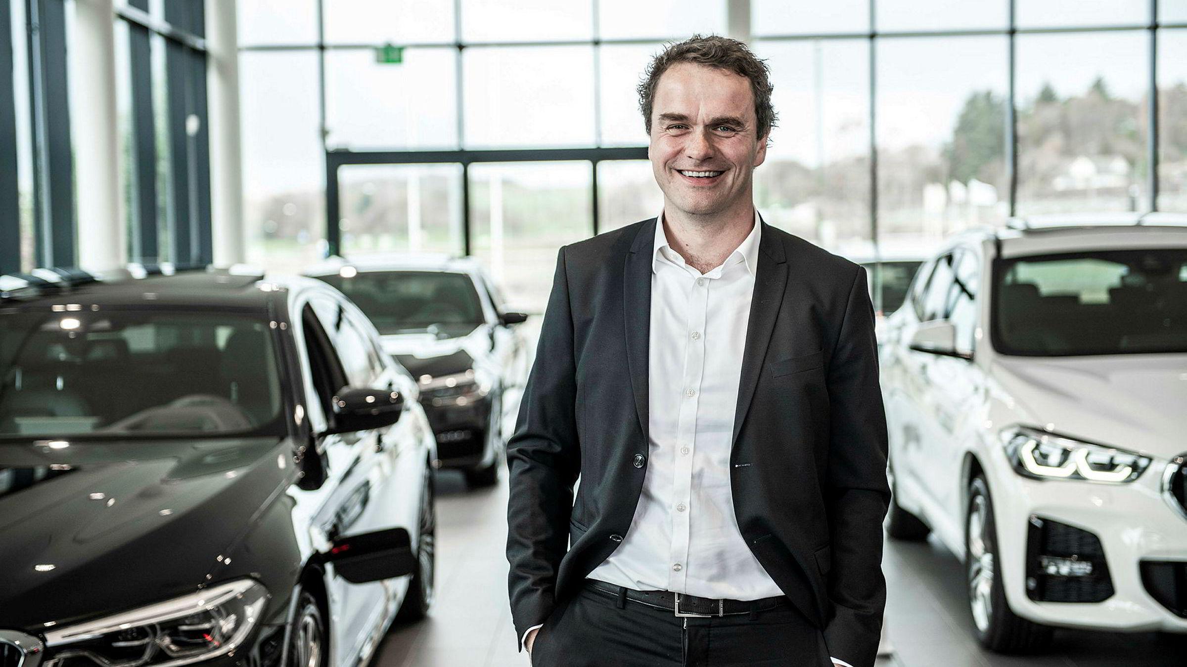 Stig Sæveland, adm. dir i Hedin Automotive.