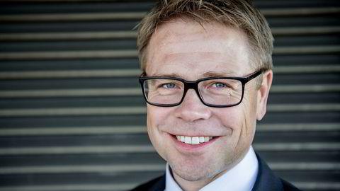 Entra-sjef Arve Regland har grunn til å smile etter et sterkt andrekvartalsresultat.