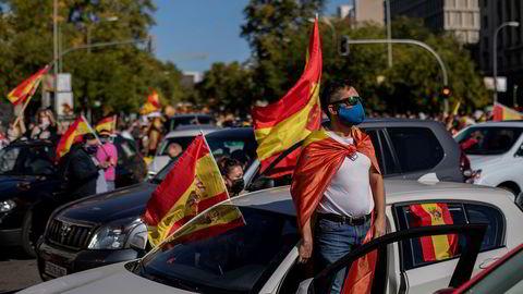 Blant tilhengere av det innvandrings- og islamfiendtlig nasjonalistisk høyrepartiet Vox i Spania mener mange at Donald Trump fører en klok politikk overfor omverdenen.