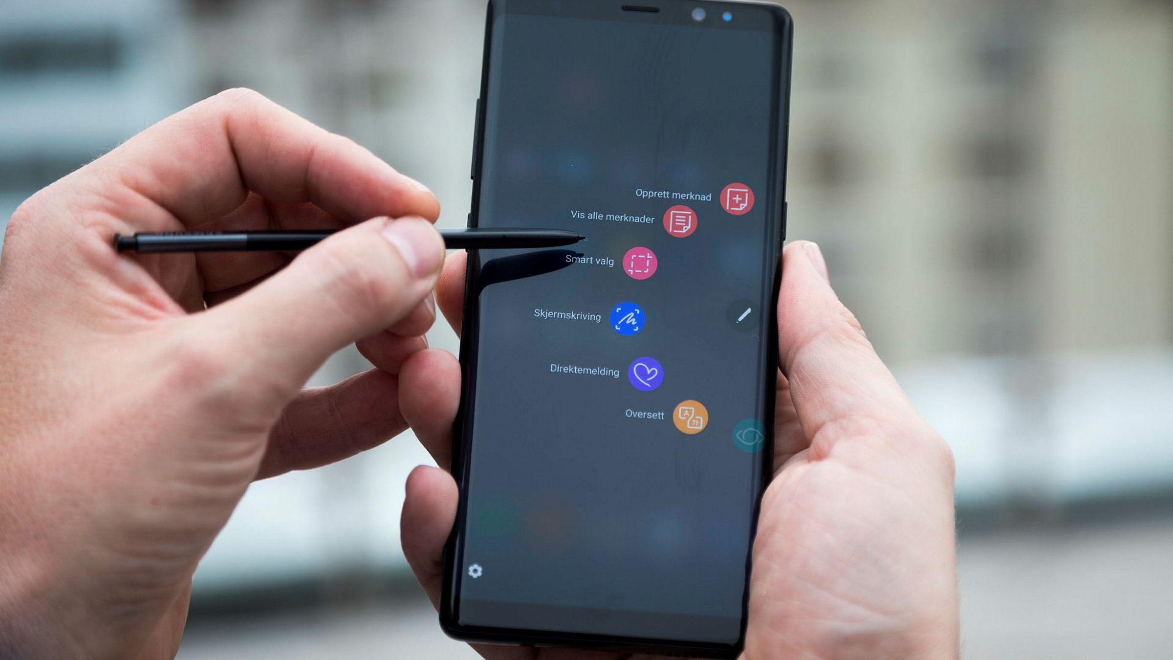 Samsung Note 8 har flere egenskaper andre telefoner ikke har. Men den stive prisen vil nok gjøre at den fortsetter å være en nisjetelefon.
