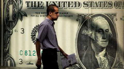 Donald Trump ønsker en svakere dollar for at eksportsektoren skal bli mer konkuransedyktig.