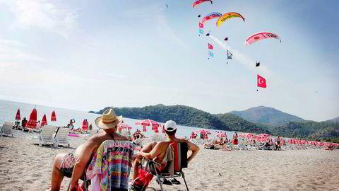 Norske turister som drar til Fethiye eller andre steder i Tyrkia får en billigere ferie på grunn av valutakursutviklingen.