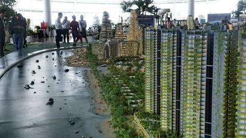 Kinesiske eiendomsselskaper planlegger investeringer på over 850 milliarder kroner i Sør-Malaysia. Iskandar Malaysia, like ved Singapore, tilbyr leiligheter til en femtedel av hva de koster i Singapore og Kina.