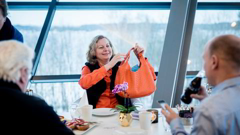 Konsernsjef i Telenor Norge Berit Svendsen.