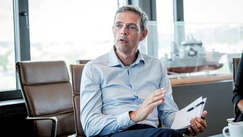 Råvareanalytiker Bjarne Schieldrop fra SEB Bank.