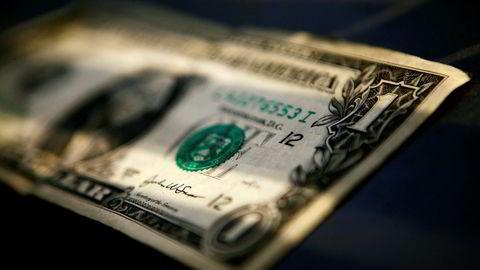 Amerikanske dollar er markert styrket mot en rekke valutaer denne uken.