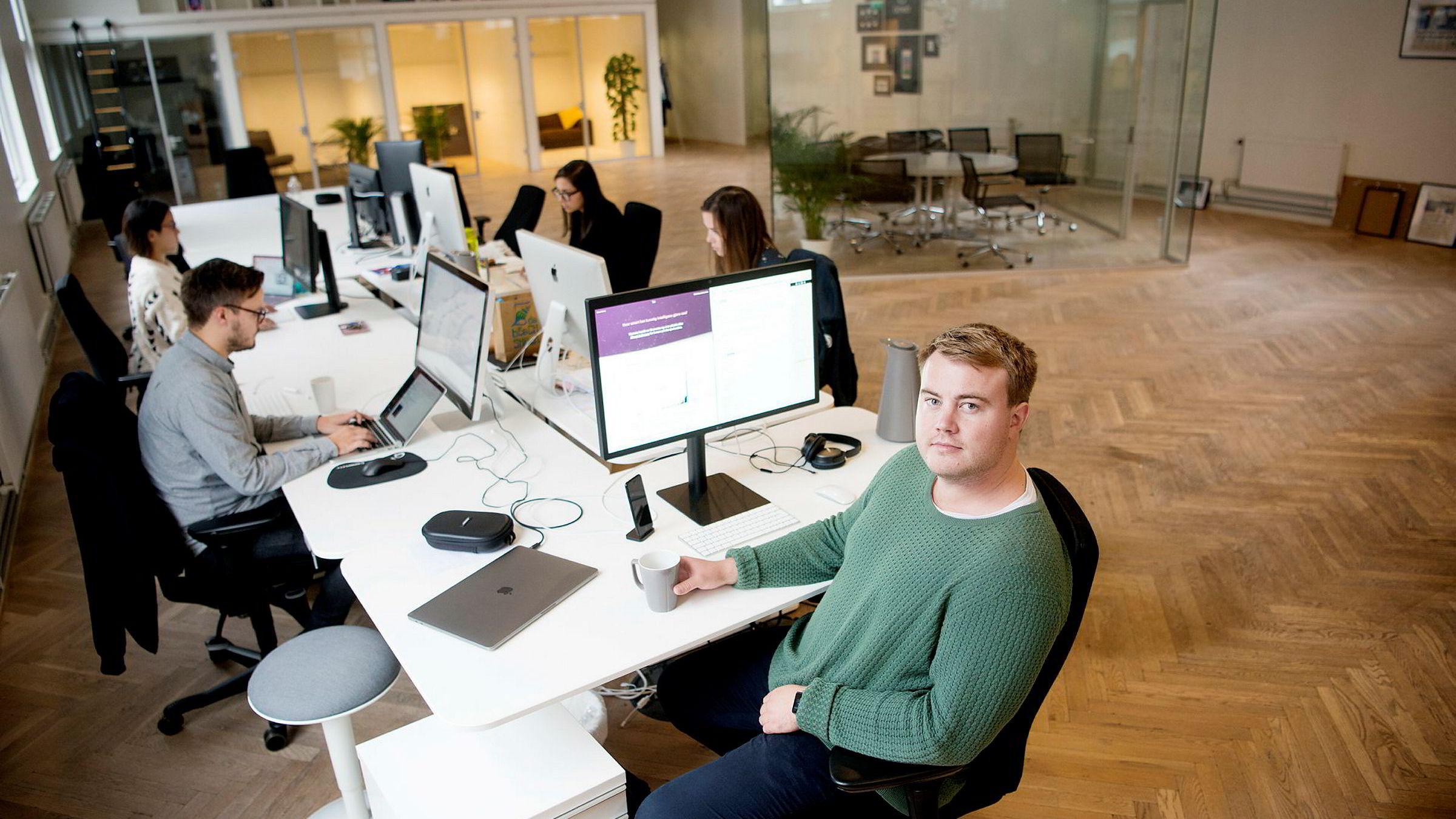 Mathias Mikkelsen, gründer og daglig leder i Timely.