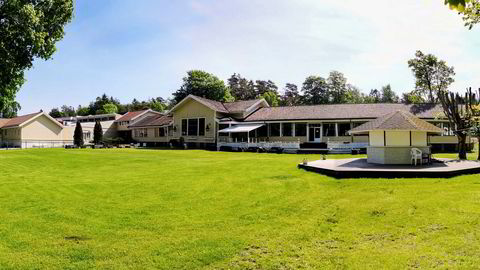 Hankø Hotel & Spa har rikelig med velpleid uteplass