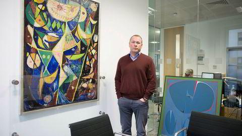 Nicolai Tangen har samlet kunst i flere år. Deler av samlingen hans skal stilles ut i kunstsiloen i Kristiansand som skal stå ferdig i 2022.