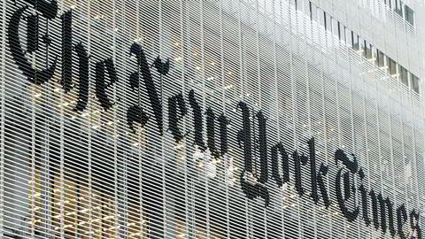 Storavisen The New York Times flytter deler av sin redaksjon fra Hongkong til Sør-Korea på grunn av Kinas inngripende sikkerhetslov.