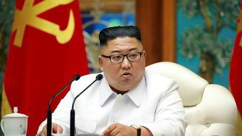 Nord-Korea fortsetter å utvikle atomprogrammet sitt og har nå trolig kapasitet til å feste atomstridshoder på interkontinentale missiler, er slutningen som trekkes av flere land i en ny konfidensiell FN-rapport. Her: Landets leder Kim Jong-un.