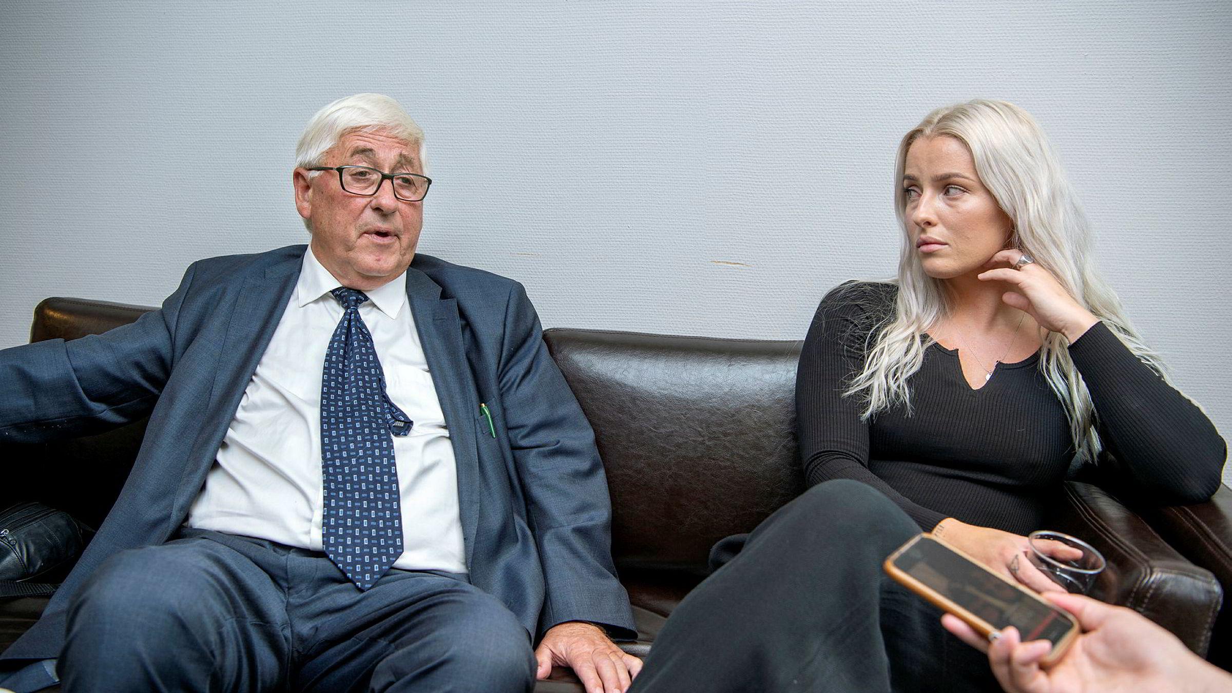 PFU behandlet i høst klagesaken mellom Sofie Bakkemyr og VG. Her med advokaten Knut-Asbjørn Solevåg.