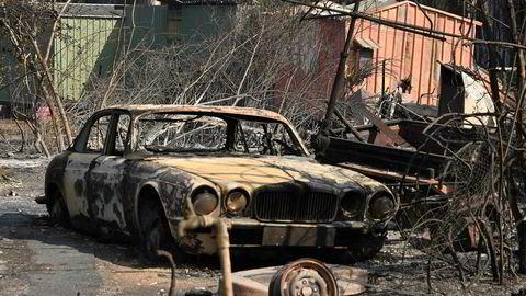 Det har vært store ødeleggelser etter brannene i Australia de siste dagene. Det kan bli verre de neste 24 timene.