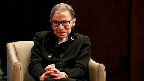 Høyesterettsdommer Ruth Bader Ginsburg er død, etter et tids sykeleie.