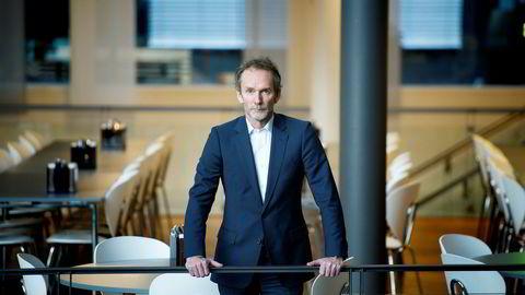 – Nå kommer vi nok tilbake til at det er datastrømmen som bestemmer, sier Harald Magnus Andreassen etter en periode med mye uro i markedene. Foto: Elin Høyland