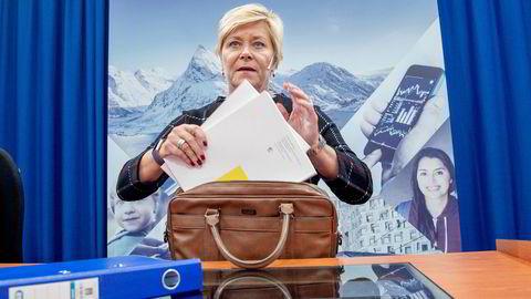 – Høringen har vist at det er bred enighet om at forskriften bør videreføres, sier finansminister Siv Jensen.