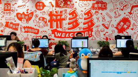 Det kinesiske netthandelsselskapet Pinduoduo har aldri tjent penger, men verdsettes til over 115 milliarder kroner ved den amerikanske Nasdaq-børsen.