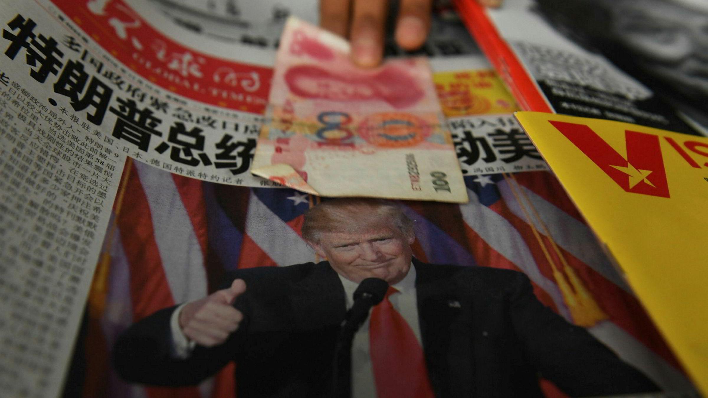 Donald Trumps uttalelser om Kina blir neppe sett på med blide øyne av toppene i den kinesiske kommunistledelsen.