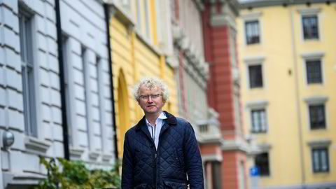 Jan Ludvig Andreassen, sjeføkonom i Eika Gruppen, mener Norge står overfor et unormalt fall i boligpriser.