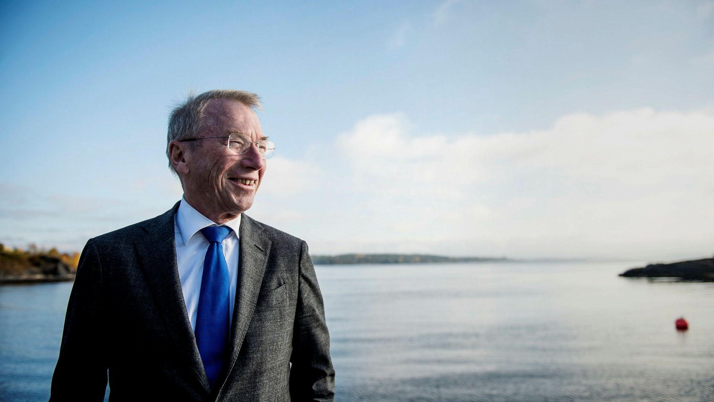 Investor Jens Ulltveit-Moe.