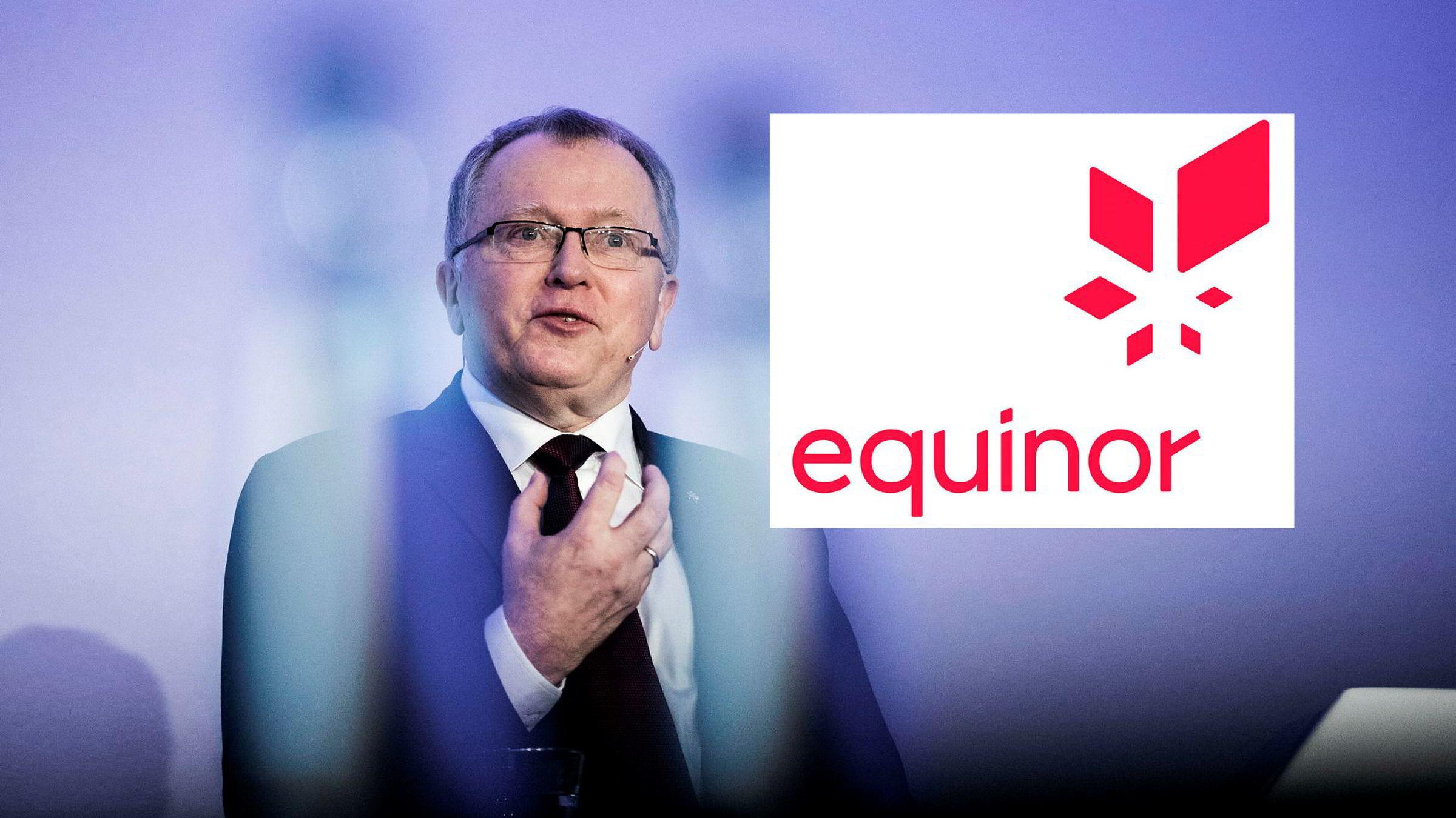 – Navnet Equinor beskriver vår opprinnelse, våre verdier og hva vi vil være i fremtiden, sier Eldar Sætre.