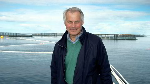 Frøyværing og grunnlegger Gustav Witzøe kontrollerer 53 prosent av konsernet Salmar gjennom familieselskapet Kverva.