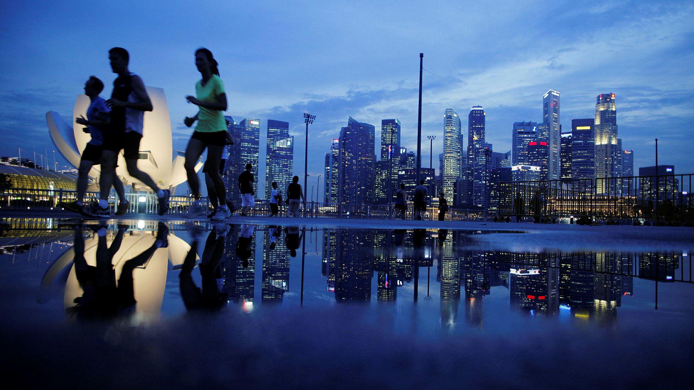 Finansdistriktet i Singapore huser to av de statlige investeringsfondene som er mest aktive i å investere i private teknologiselskaper.