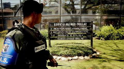 Panama har i årtier vært et yndet sted for avansert skatteplanlegging, og Mossack-Fonseca har vært en sentral tilrettelegger for skattetrette rikinger verden over. Ed Grimaldo/AFP Photo/NTB Scanpix