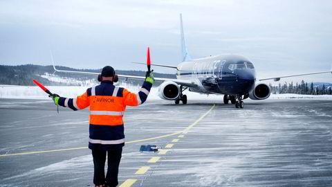 Fagernes lufthavn, Leirin, hadde kun 1818 passasjerer i fjor og er den minst trafikkerte av Avinors 46 flyplasser.