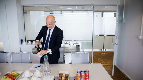 Pareto-sjef Ole Henrik Bjørge (47) er «godt fornøyd» med aktiviteten innen kjøp og salg av bedrifter, innhenting av kapital, og handel i aksjer og obligasjoner.