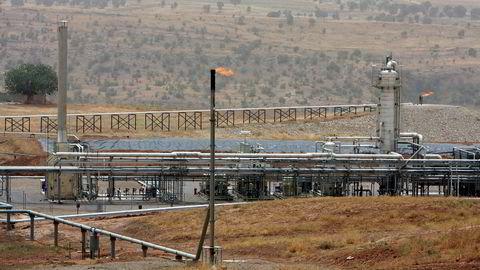 Et generelt overblikk over Tawke-feltet i nærheten av Dahuk i Irak. Dette er DNOs klart største satsingsområde.