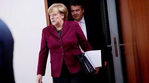 Snøstorm utsetter forbundskansler Angela Merkels reise til USA og Donald Trump.