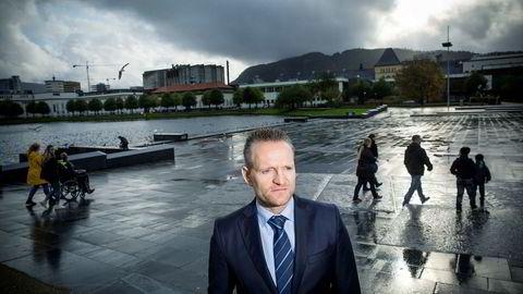 Administrerende direktør Jan Erik Kjerpeseth i Sparebanken Vest mener rentebunnen er nådd.