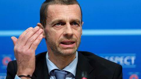 UEFA-president Aleksander Ceferin, som også er visepresident i FIFA, sier det kan skape problemer for USAs VM-søknad i fotball til mesterskapet i 2026, dersom Trumps kontroversielle innreiseforbud blir godkjent.