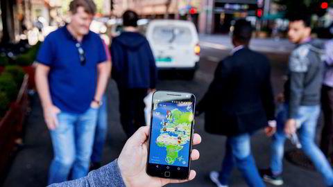 Snap Map deler bilder og videoer kringkastet av brukerne sine, med røde felter der trafikken er ekstra stor, for eksempel ved store nyhetshendelser.