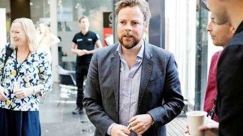 Torbjørn Røe Isaksen kunnskapsminister la Onsdag frem årets tall for opptak av studenter til høyere utdannelse.