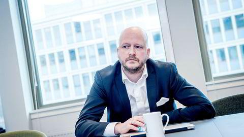 – Hans Geelmuyden opptrer uærlig i det offentlige rom. Jeg er en mann som er opptatt av lojalitet, sier Erna Solbergs tidligere statssekretær og pressesjef, Sigbjørn Aanes, som i dag er partner i pr-byrået First House.
