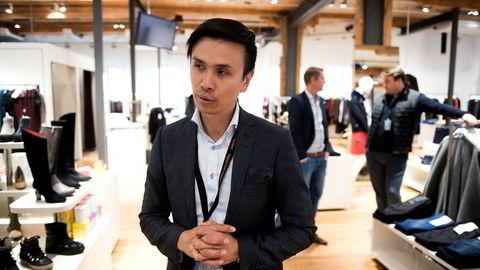 DNBs utviklingssjef Thang Manh Tran er sentral i teamet som står bak og utvikler betalingsappen Vipps. På tre måneder har en halv million brukere sagt ja til å betale regninger i appen.
