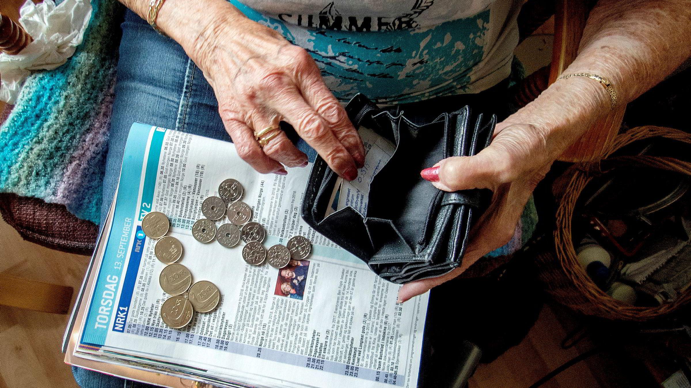 Eldre over hele verden er friskere og lever lenger enn tidligere, noe som setter pensjonsordninger i land over hele verden på en utfordring. Illustrasjonsfoto: Frank May / NTB scanpix