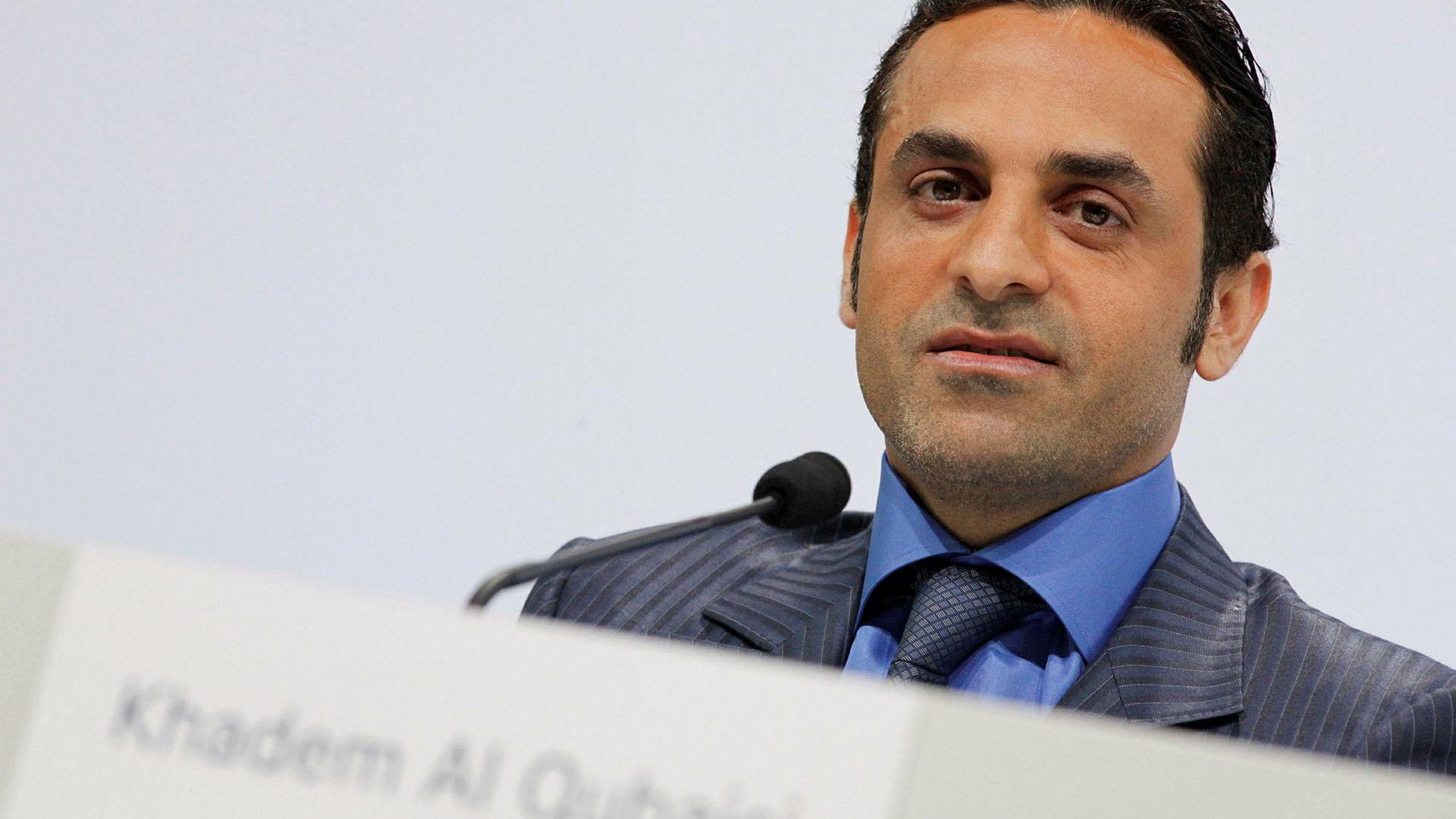 Tidligere toppsjef i Abu Dhabis International Petroleum Investment Company (Ipic), Khadem Al-Qubaisi.