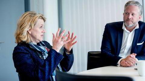 Litt sterkere økonomisk fremgang. BI-professor Hilde C. Bjørnland og norgessjef Espen Viskjer i Retriever står bak FNI – konjunkturindikator for norsk økonomi som skal måle aktivitet i sanntid.
