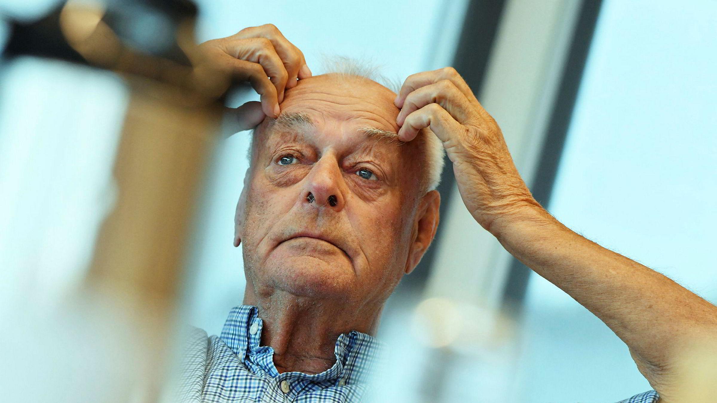 «Klippfiskkongen», eier og styreleder Anders Pedersen i Cape Invest i Ålesund, har satt av 170 millioner kroner til potensielt tap på valutahandel. Fotograf Morten Hjertø
