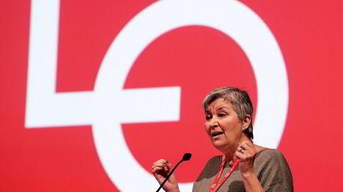 LO-leder Gerd Kristiansen er bekymret for folks pensjoner.
