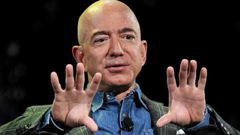 Amazon-toppsjef og grunnlegger Jeff Bezos.