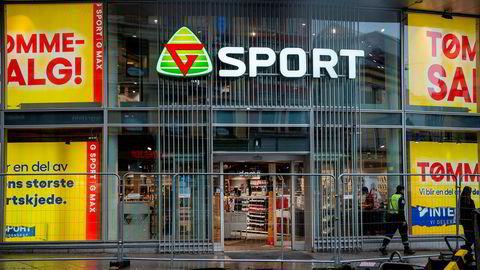 Gresvig-butikken i Storgata i Oslo ble rammet av sportskjedens konkurs. Nye eiere har tatt over selskapet.