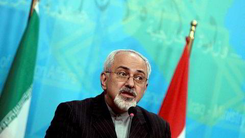Irans utenriksminister Mohammad Javad Zarif.