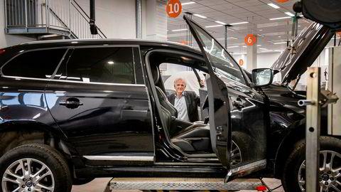 - Mange ønsker seg et mer personlig forhold til sin servicetekniker og har derfor utviklet måten vi driver service på basert på det, sier Volvo-sjef Øystein Herland hos Bilia på Fornebu.